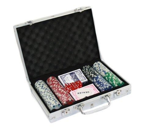 Set 200 Chips Fiches da Poker Texas Hold Em DR&WL
