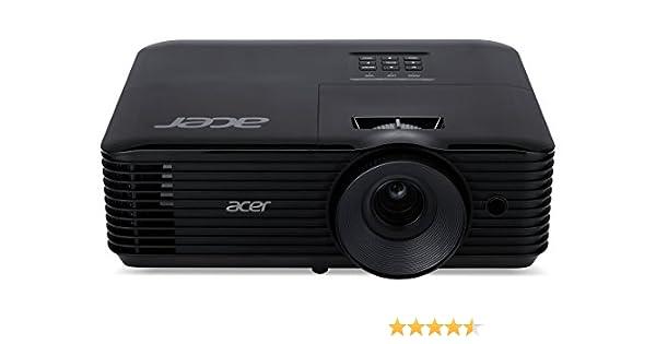 Acer Essential X128H - Proyector (3600 lúmenes ANSI, DLP, XGA ...