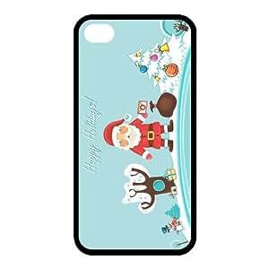 Custom Christmas Back Cover Case for iphone 4,4S JN-523