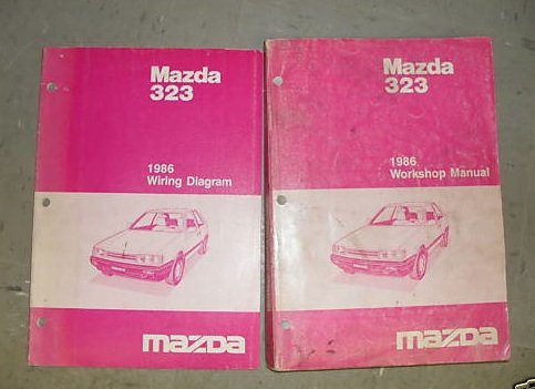 1986 Mazda 323 Shop Service Repair Manual Set Oem 86 ... on mazda 626 wiring-diagram, mazda rx8 wiring diagram, mazda 6 wiring diagram, mazda tribute wiring diagram, mazda protege wiring diagram, mazda 323 wheels, mazda 5 wiring diagram, mazda 323 oil filter, mazda mpv wiring diagram, miata engine diagram, mazda b2200 wiring diagram, mazda 626 engine diagram, mazda 3 wiring diagram, mazda millenia wiring diagram, 1988 toyota pickup parts diagram, mazda miata wiring diagram, mazda b3000 wiring diagram, mazda 323 engine, mazda b2600 wiring diagram, mazda b2000 wiring diagram,