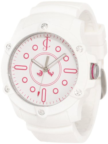Juicy Couture Women's 1900904 Surfside Silicon Strap Watch