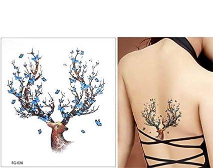UPUPUPUP Brillo Colorido Flash Body Tattoo Pegatina Impermeable de ...