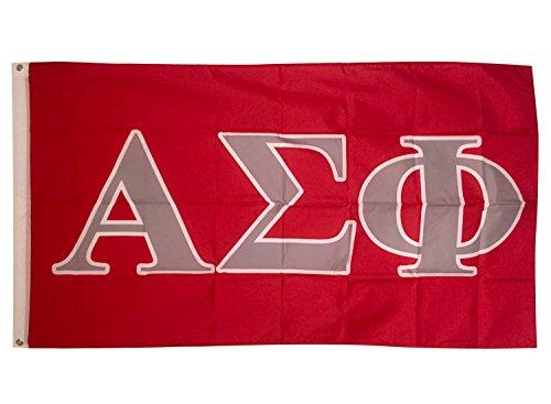 Alpha Sigma Phi Letter Fraternity Flag Banner Greek Letter Sign Decor Alpha Sig