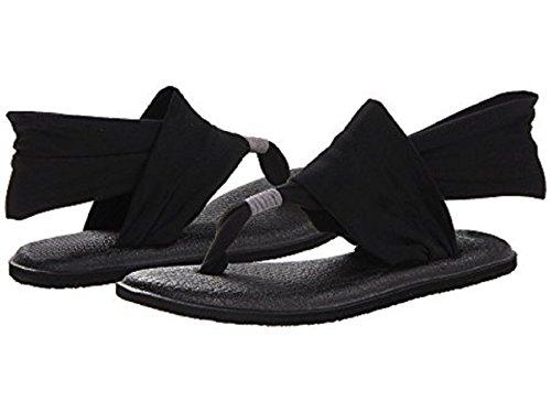 noir 2 Femme Pour Yoga De Flop Eu 40 nbsp;flip M Sling Fashion Home Noir qAYvt