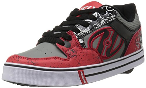 Heelys Heren Motion Plus Fashion Sneaker Rood / Zwart / Grijs / Graphics