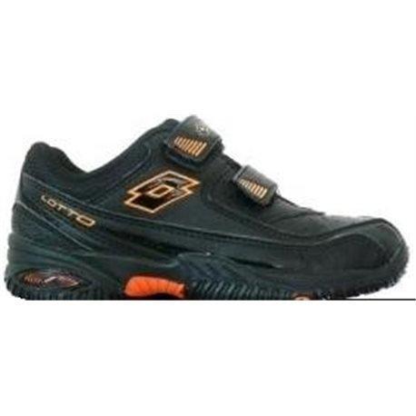 Lotto - Zapatillas de tenis para niño Negro negro