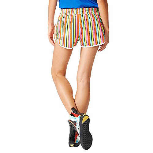 in tessuto multicolor Pantalone AJ8159 Stripes ADIDAS Short donna bunt shorts TwgqS7O
