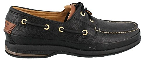 sale low shipping fee cheap good selling Sperry Top-Sider Men's Gold Two-Eye Boat Shoe Black free shipping sale cheap for cheap free shipping genuine gzeJ3VUe9o