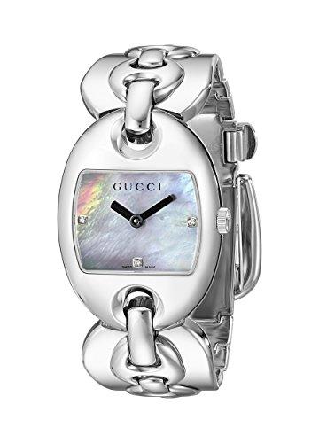 Gucci Marina Chain (GUCCI Women's YA121302 Marina Silver Dial Watch)