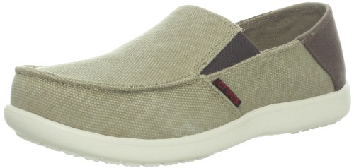 crocs 15576 K Loafer ,Khaki/Espresso,6 M US Big Kid