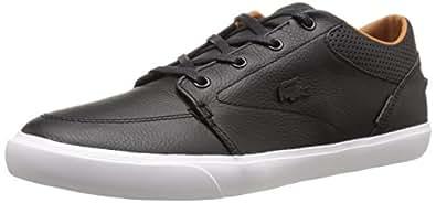 Lacoste Men's Bayliss Vulc PRM Shoe, Black On Black, 7 M US