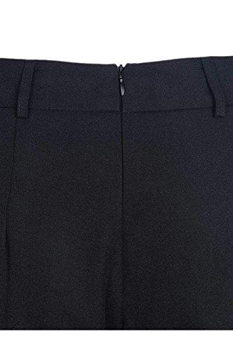 Large Eté 7 Haute Couleur Élégant 8 Pantalons Costume Avec Printemps Mode Taille Ceinture Femmes Pantalon Noir Loisir Unie Écrans w8IqaF6
