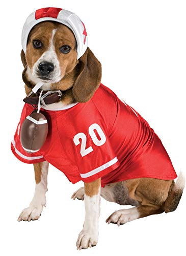 Rubie's Football Star Pet Costume, Medium -