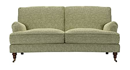 Bluebell Two And A Half Seat Sofa In Savory   Green Sofas