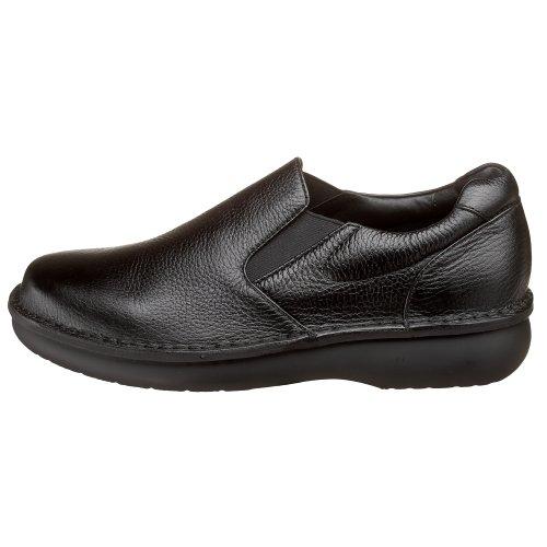 Propet Men's Galway Walker Slip-on,Black Grain,10.5 XX (US Men's 10 EEEEE) M4077B