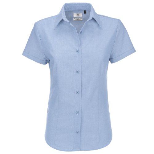 Oxford short sleeve/women COLOUR Oxford Blue SIZE XS