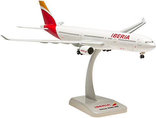 Hogan Wings 1-200 Commercial Models HG0281G 1-200 Iberia A330-300 New Livery with Gear (A330 Livery 300 New)