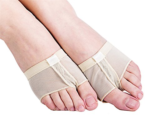 Women's Lyrical Ballet Dance Foot Thong Toe Paws Half Sole Forefoot Pads Shoes