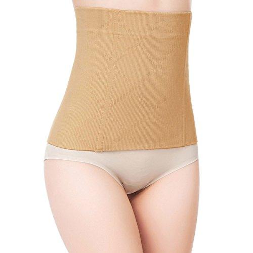 97e80c3bf2 Shymay Women s No Closure Waist Corset Cincher Boned Tummy Control Waist  Girdle