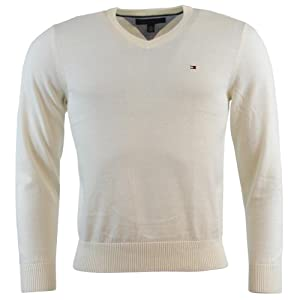 Tommy Hilfiger Men's V-Neck Long Sleeve Pacific Pullover Sweater