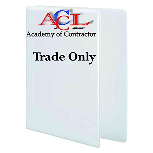 Download Contractor License Course C-42- SANITATION for CA. INCLUDES: TRADE ONLY material with INSTANT ONLINE ACCESS pdf