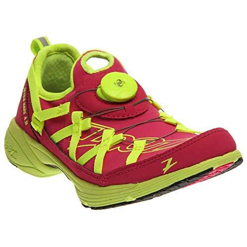 Zoot Women's W Ultra Race 4.0 Running Shoe,Beet/Safety Yellow,9.5 M US