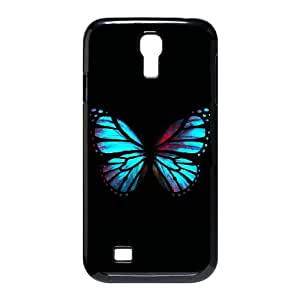 Samsung Galaxy S4 9500 Cell Phone Case Black Blue Red Butterfly Dkkv