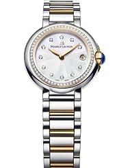 Maurice Lacroix Fiaba Round FA1003-PVP23-170-1 Wristwatch for women with genuine diamonds
