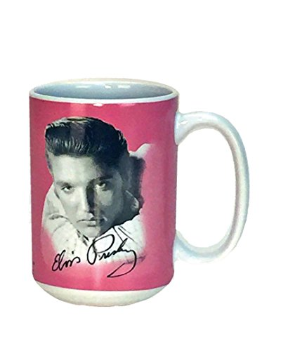 Spoontiques Elvis ceramic Coffee Mug, Pink