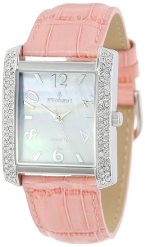 Pink Crystal Watch - 9