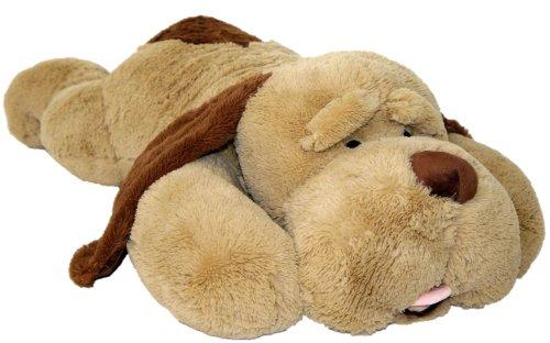 Wagner 9023 - XL Plüschhund - 60 cm groß - Kuschelhund Teddybär Plüschtier Plüsch Plüschbär