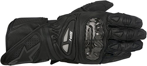 Alpinestars SP-1 Men's Street Motorcycle Gloves - Black/Black / Large