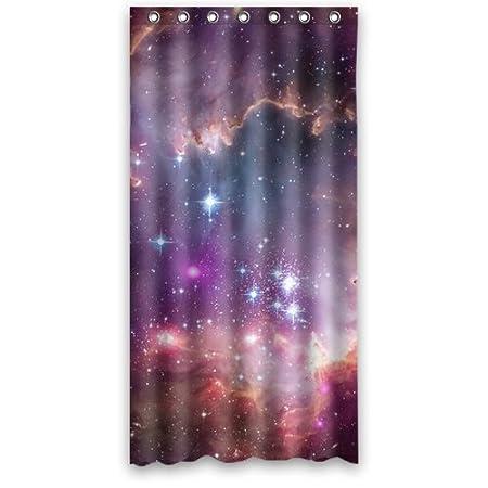 Bright Nebula Galaxy Space Shower Curtain 36u0026quot; ...