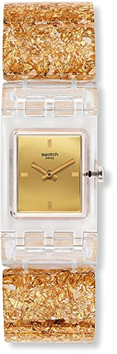 SWATCH watch SQUARE GOLDEN JEWEL L SUBK159A Ladies