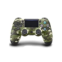 Wireless Bluetooth Game Controller Gamepad for Sony PS4 (Army green camouflage)