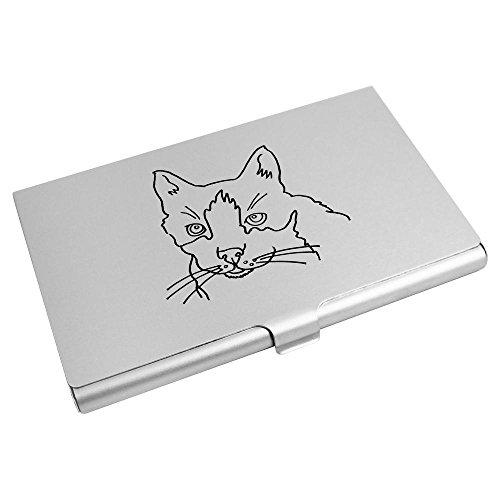 Wallet Azeeda Business Holder 'Cat' Card Azeeda CH00000062 Card Credit 'Cat' 84wdxq