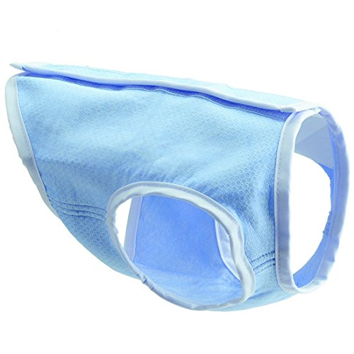 EXPAWLORER Dog Cooling Vest, Swamp Cooler Jacket for - Blue Cooler Vest