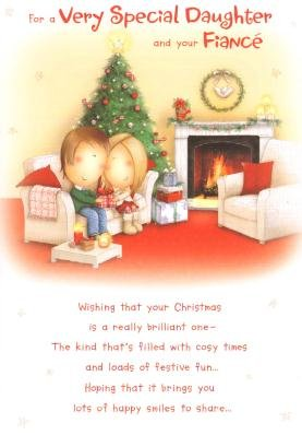 Daughter and fiance at christmas christmas greetings card amazon daughter and fiance at christmas christmas greetings card m4hsunfo