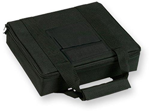 8 Inch Ballistic Nylon - Bulldog Cases Nylon Pistol Case with Locking Zipper, Black, 8 x 7-Inch