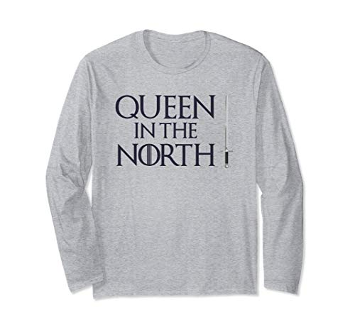Queen In The North T-Shirt Cool Easy Halloween Costume Tee  Long Sleeve T-Shirt