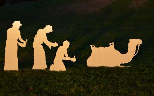 Large Wisemen for MyNativity Outdoor Nativity Set (3 sizes available) by MyNativity