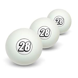 28Nr. Zwanzig Acht Neuheit Tisch Tennis Ping Pong Ball 3Pack