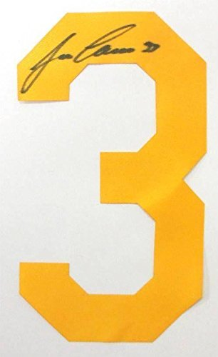 Jose Canseco Autographed Jersey - Yellow Number SI - Autographed MLB Jerseys
