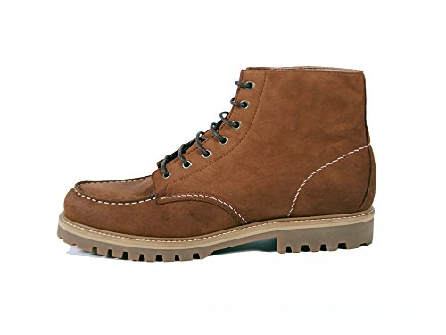 Brave GentleMan Men's The Worker Boot in Tan