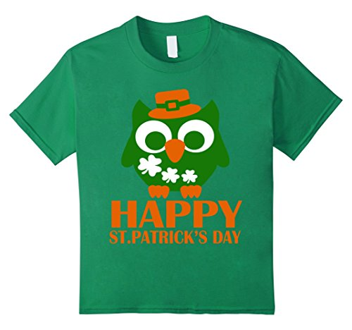 [Kids Happy St.Patrick Day T-Shirt 6 Kelly Green] (Hilarious Costumes Ideas)