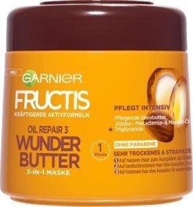 Price comparison product image Garnier Fructis Oil Repair 3 Wonder Butter Hair Mask 300 ml / 10 oz