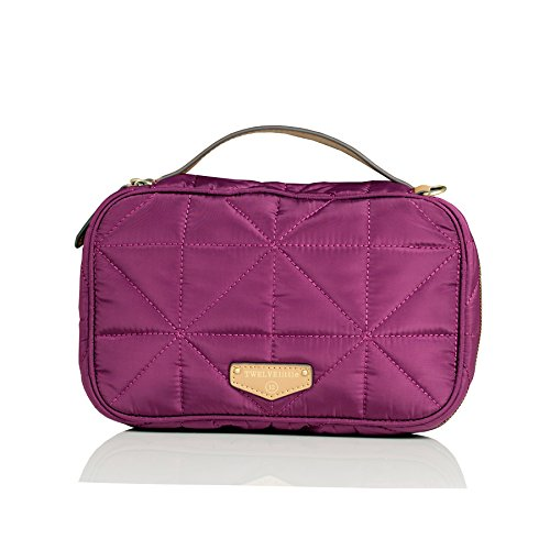 TWELVElittle Diaper Clutch, Plum