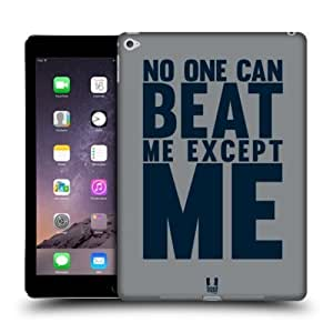 Head Case Designs Beat Me Power Statement Protective Snap-on Hard Back Case Cover for Apple iPad Air 2