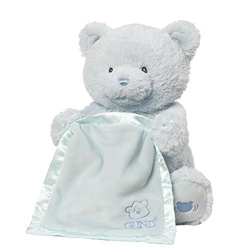 GUND Baby My First Teddy Bear Peek A Boo Animated Baby St...