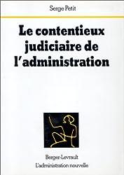 Le contentieux judiciaire de l'administration